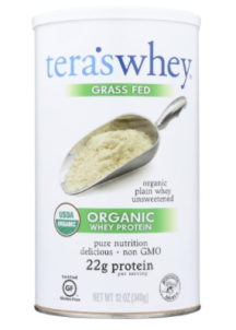 Our favorite organic whey protein