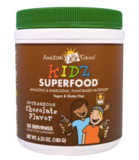 A nutritional supplement powder for kids (and adults) that's a totally delicious and healthy treat