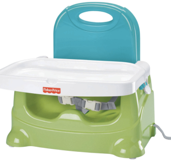 Fisher Price Healthy Care Booster. The best portable booster seat at an awesome price point