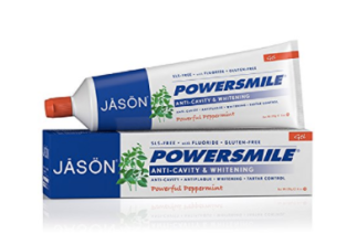 Jason is the purest toothpaste around. It comes in fluoride and fluoride free varieties