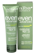 Alba Botanica - my favorite daily facial moisturizer with SPF. Free of lots of the usual junk