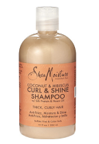 Widely available in drug stores, the Shea Moisture hair and body line is sulfate, phthalate and paraben free.